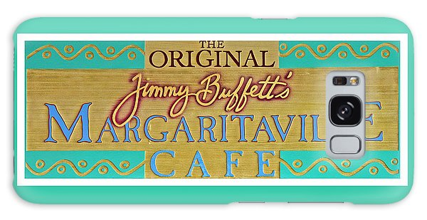 Jimmy Buffetts Margaritaville Cafe Sign The Original Galaxy Case