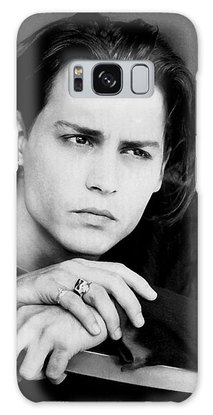 Johnny Depp Galaxy Case by Karon Melillo DeVega
