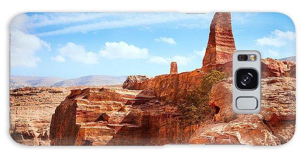 Desert View Tower Galaxy Case - Jordanian Desert by Alexey Stiop