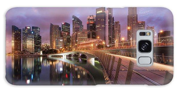 Marina Galaxy Case - Jubilee Bridge by Richard Vandewalle