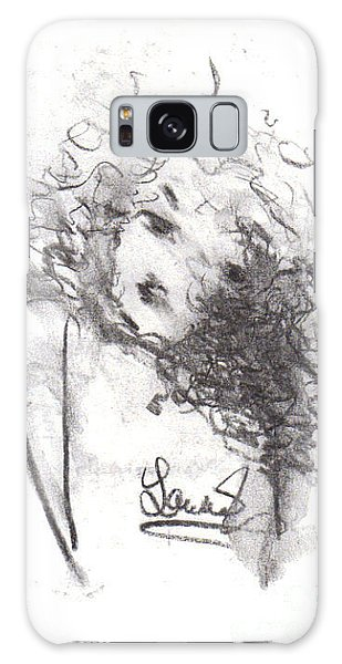 Just Me Galaxy Case by Laurie L