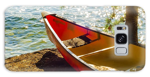 Kayak By The Water Galaxy Case