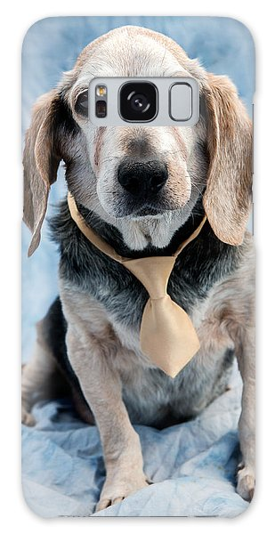 Dog Galaxy S8 Case - Kippy Beagle Senior by Iris Richardson