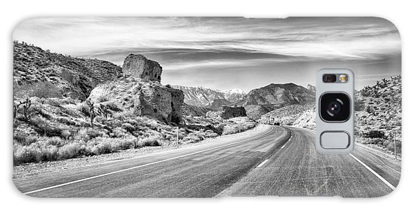 Galaxy Case featuring the photograph Kyle Canyon Road by Howard Salmon