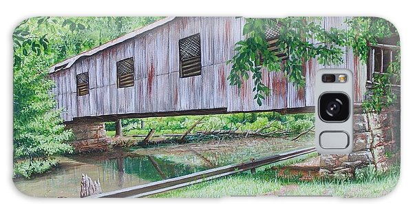 Kymulga Covered Bridge Galaxy Case