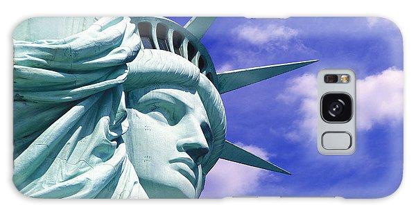 Lady Liberty Galaxy Case by Jon Neidert