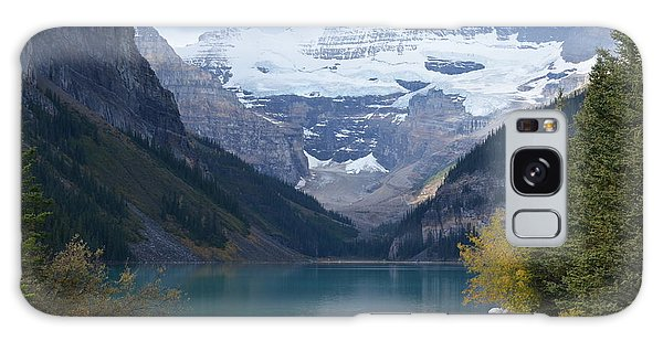 Lake Louise In Fall Galaxy Case by Cheryl Miller