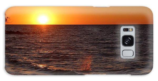 Lake Ontario Sunset Galaxy Case