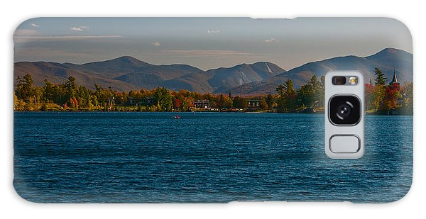 Lake Placid And The Adirondack Mountain Range Galaxy Case