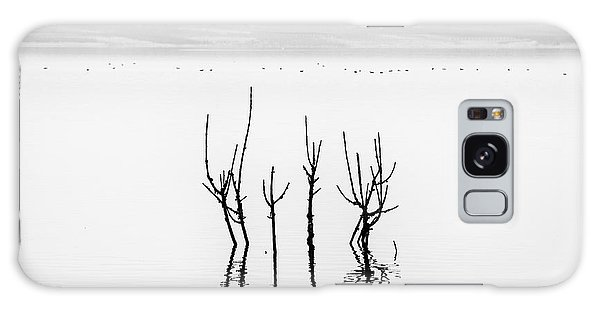 Plants Galaxy Case - Lake Reflections by George Digalakis