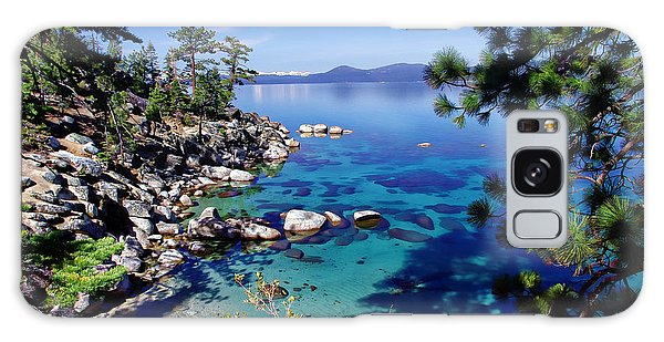 Lake Tahoe Swimming Hole Galaxy Case