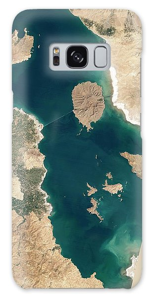 Earth From Space Galaxy Case - Lake Urmia by Nasa Earth Observatory