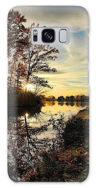 Lake Wausau Sunset Galaxy Case