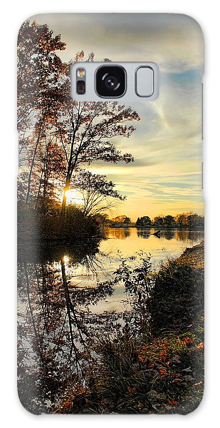 Lake Wausau Sunset Galaxy Case