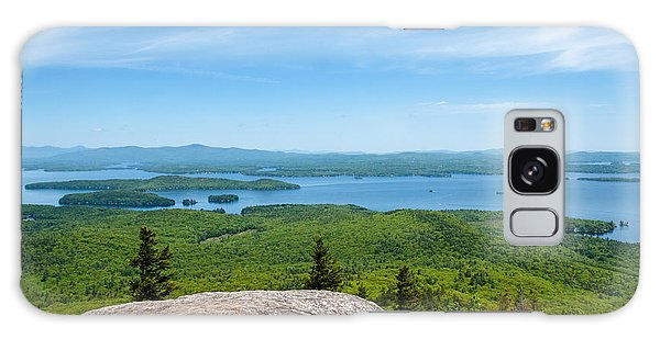 Lake Winnipesaukee Galaxy Case by Sharon Seaward