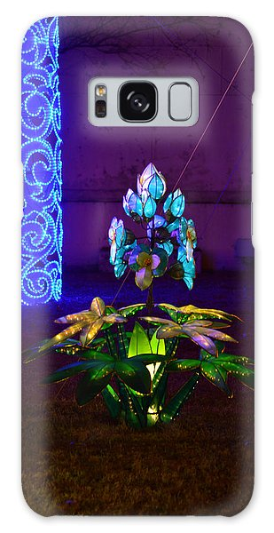 Lantern Flower Galaxy Case