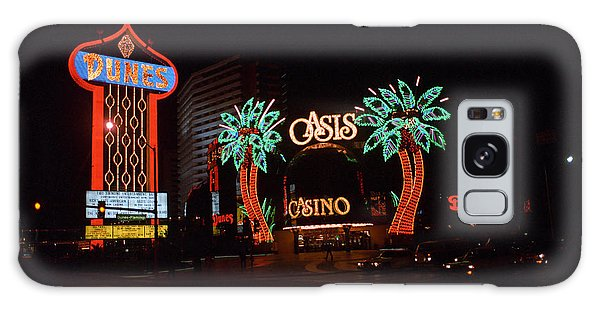 Las Vegas 1983 Galaxy Case by Frank Romeo