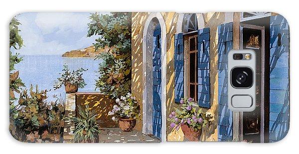 Door Galaxy Case - Le Porte Blu by Guido Borelli