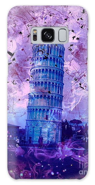 Leaning Tower Of Pisa 2 Galaxy Case