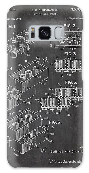 Lego Patent Drawing Galaxy Case by Art Photography