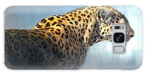 Leopard Galaxy S8 Case - Leopard by Aaron Blaise