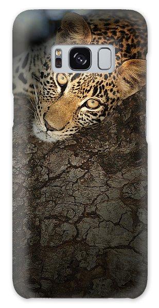 Leopard Galaxy S8 Case - Leopard Portrait by Johan Swanepoel