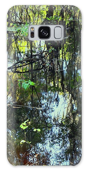 Lettuce Lake Abstract Galaxy Case