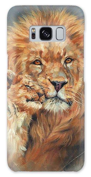 Lion Love Galaxy Case