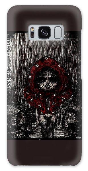 Little Red Riding Hood Galaxy Case by Akiko Okabe
