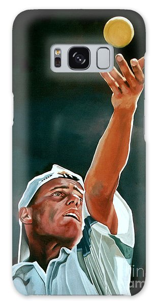 Lleyton Hewitt Galaxy Case by Paul Meijering