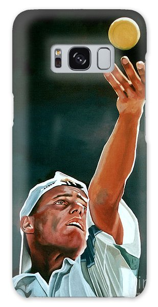 Sportsman Galaxy Case - Lleyton Hewitt by Paul Meijering