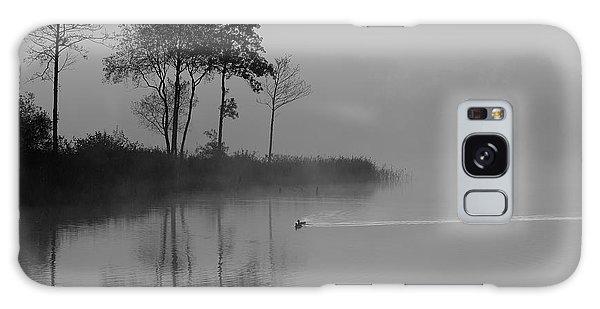 Loch Ard Trees In The Morning Mist Galaxy Case
