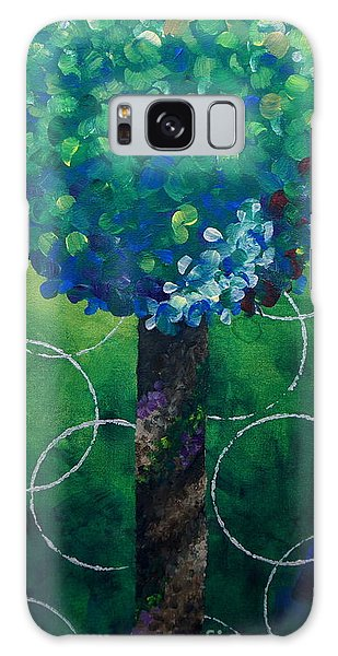 Lollipop Tree Green Galaxy Case