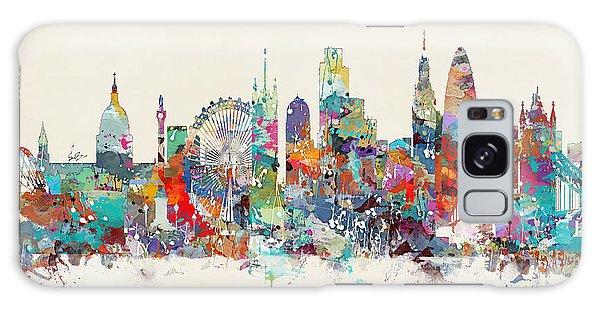 London City Skyline Galaxy Case
