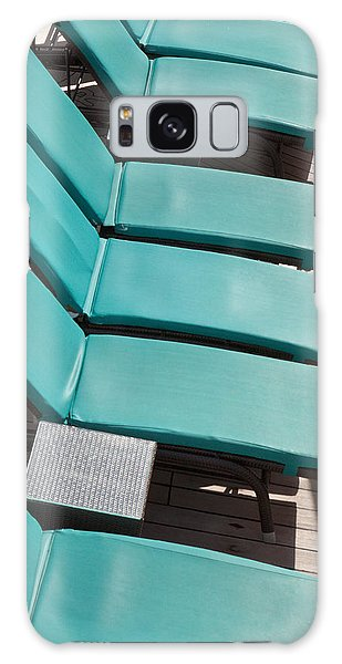 Lounge Chairs On A Cruise Ship Galaxy Case