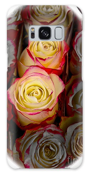 Love Is A Rose Galaxy Case
