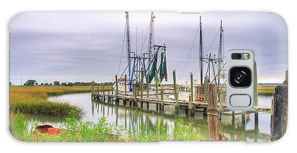 Lowcountry Shrimp Dock Galaxy Case