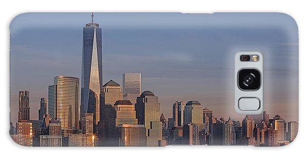 Lower Manhattan Skyline Galaxy Case