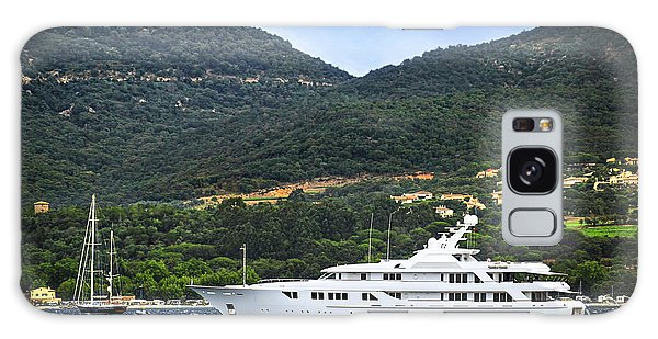 Motor Yacht Galaxy Case - Luxury Yacht At The Coast Of French Riviera by Elena Elisseeva