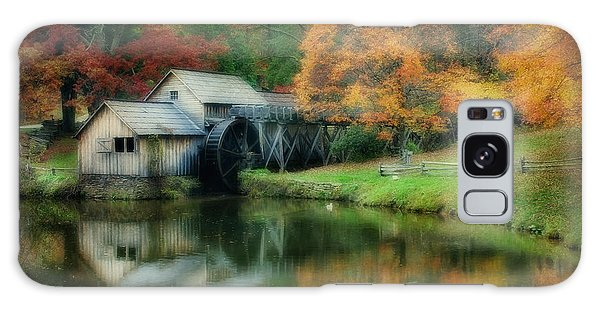 Mabry Mill Galaxy Case by Joan Bertucci