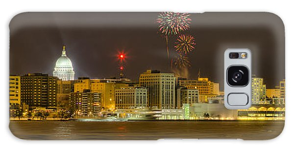 Madison New Years Eve Galaxy Case by Steven Ralser