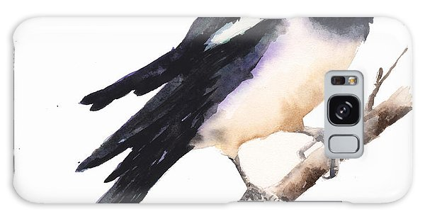 Magpie Painting Galaxy Case