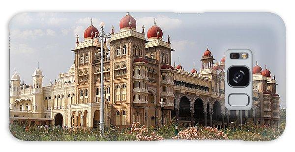 Maharaja's Palace And Garden India Mysore Galaxy Case by Carol Ailles