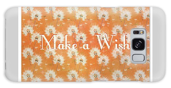 Make A Wish Galaxy Case