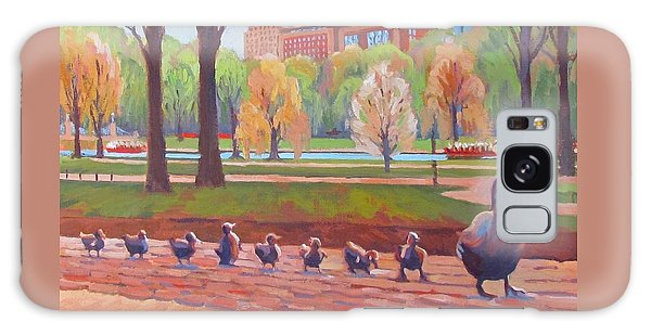 Boston Galaxy S8 Case - Make Way For Ducklings by Dianne Panarelli Miller