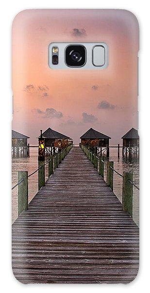 Maldives Sunrise Galaxy Case