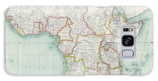 Nigeria Galaxy Case - Map Of Africa by Library Of Congress, Geography And Map Division