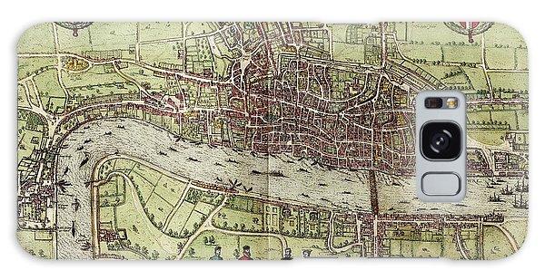 Map Of London Galaxy Case
