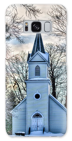 Maria Chapel Galaxy Case by Paul Freidlund