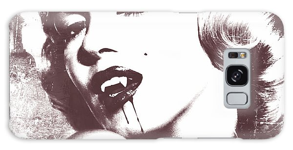Marilyn Monroe Vampire Galaxy Case by Mindy Bench